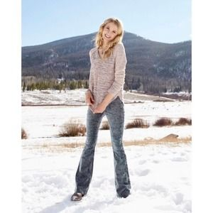 Altar'd State   Creighton Cord Flare Jegging Pants